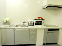 オープン日の厨房