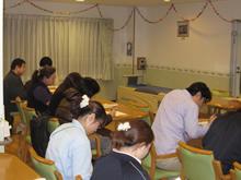 委託先でのまごころ管理栄養士による勉強会