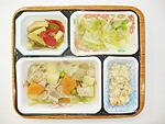 冷凍弁当サンプル(夕食) 介護食・東京宅配・冷凍弁当のまごころ工房